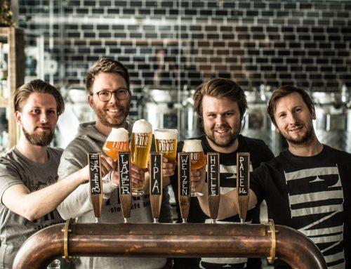 Vier Münsteraner und die Liebe zum Bier