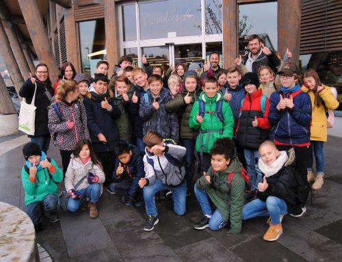 Nachhaltigkeitsrallye: Alteburg-Schule (Biebergemünd) im Paradieschen