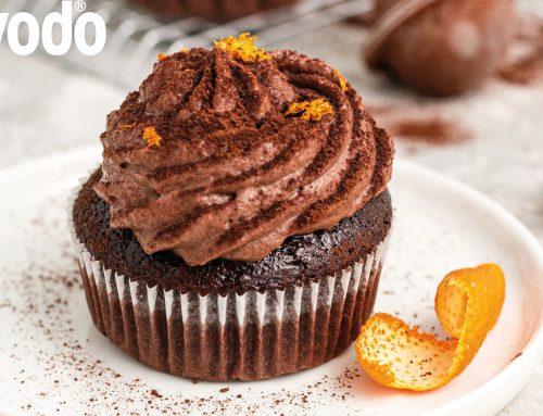 Orangen Schoko Cupcakes